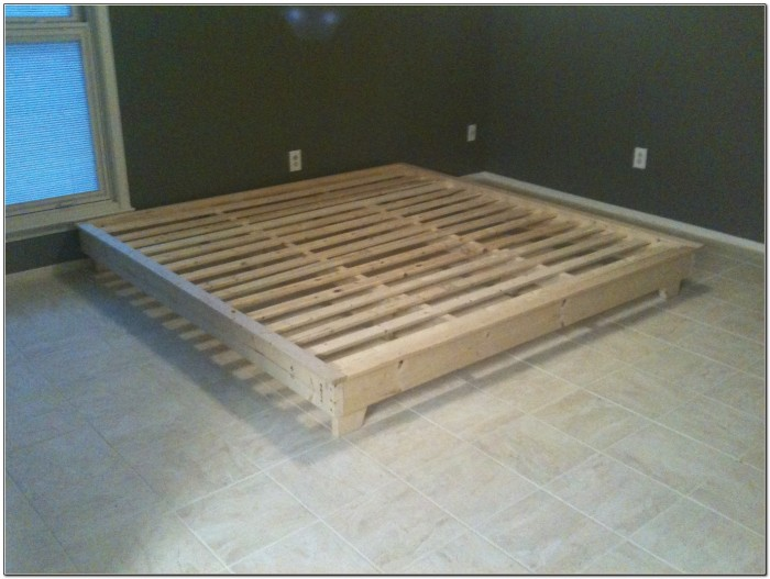 Platform Bed With Storage Plans Free Beds Home Design