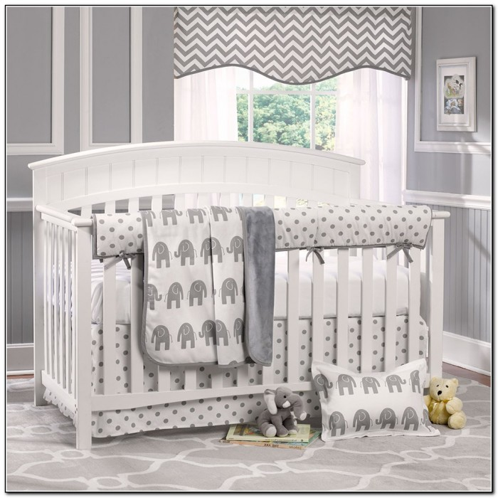 Elephant Crib Bedding For Boys