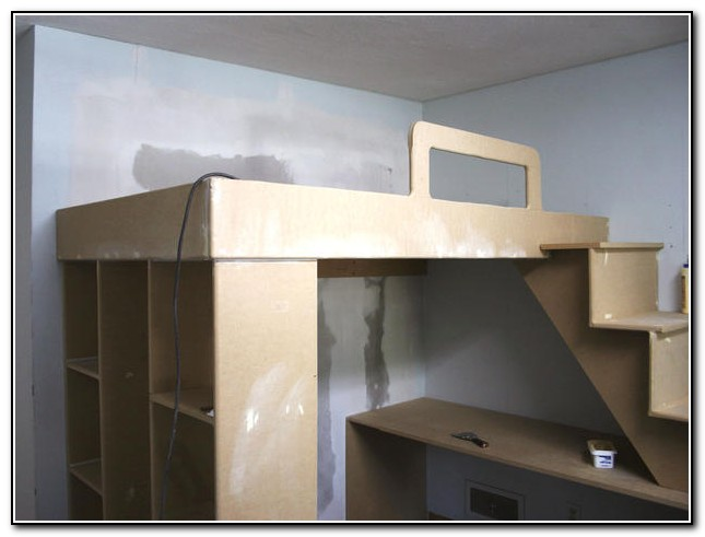 Full Loft Bed Frame