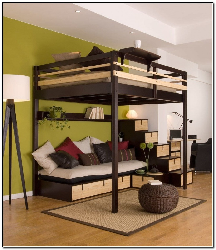 Full Loft Bed With Desk Ikea