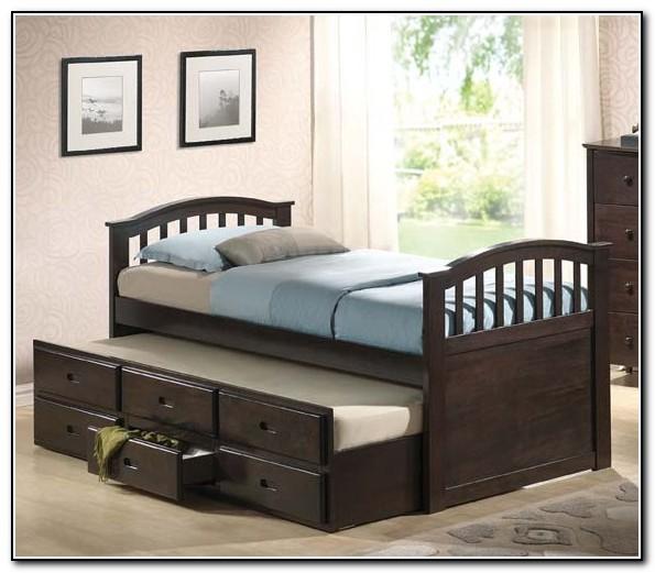 Full Trundle Bed Frame