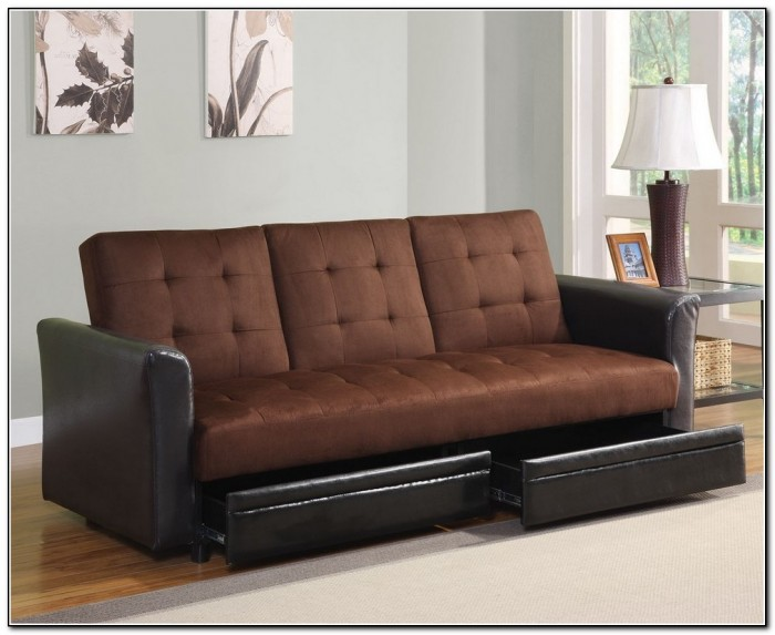 Futon Sofa Bed With Storage
