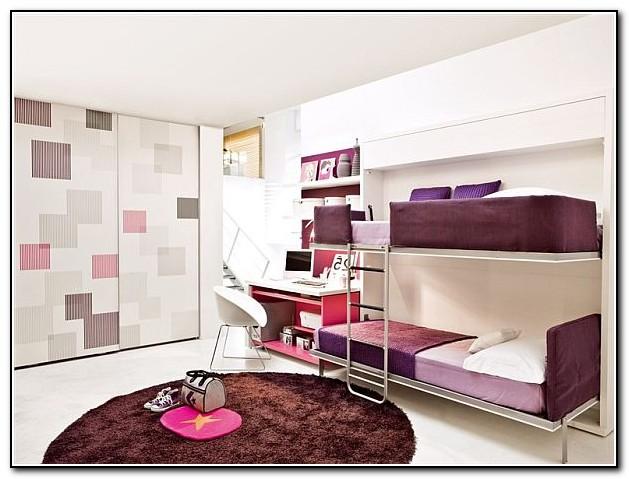 Bunk Bed Desk For Girls Beds Home Design Ideas