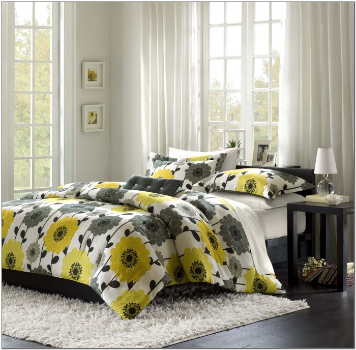 Grey And Yellow Bedding Kohl's