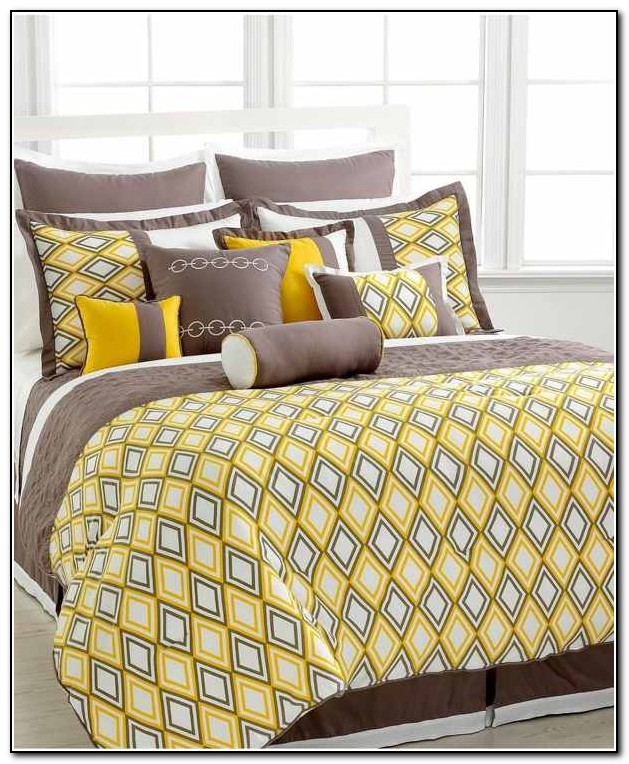 Grey And Yellow Bedding Sets Uk