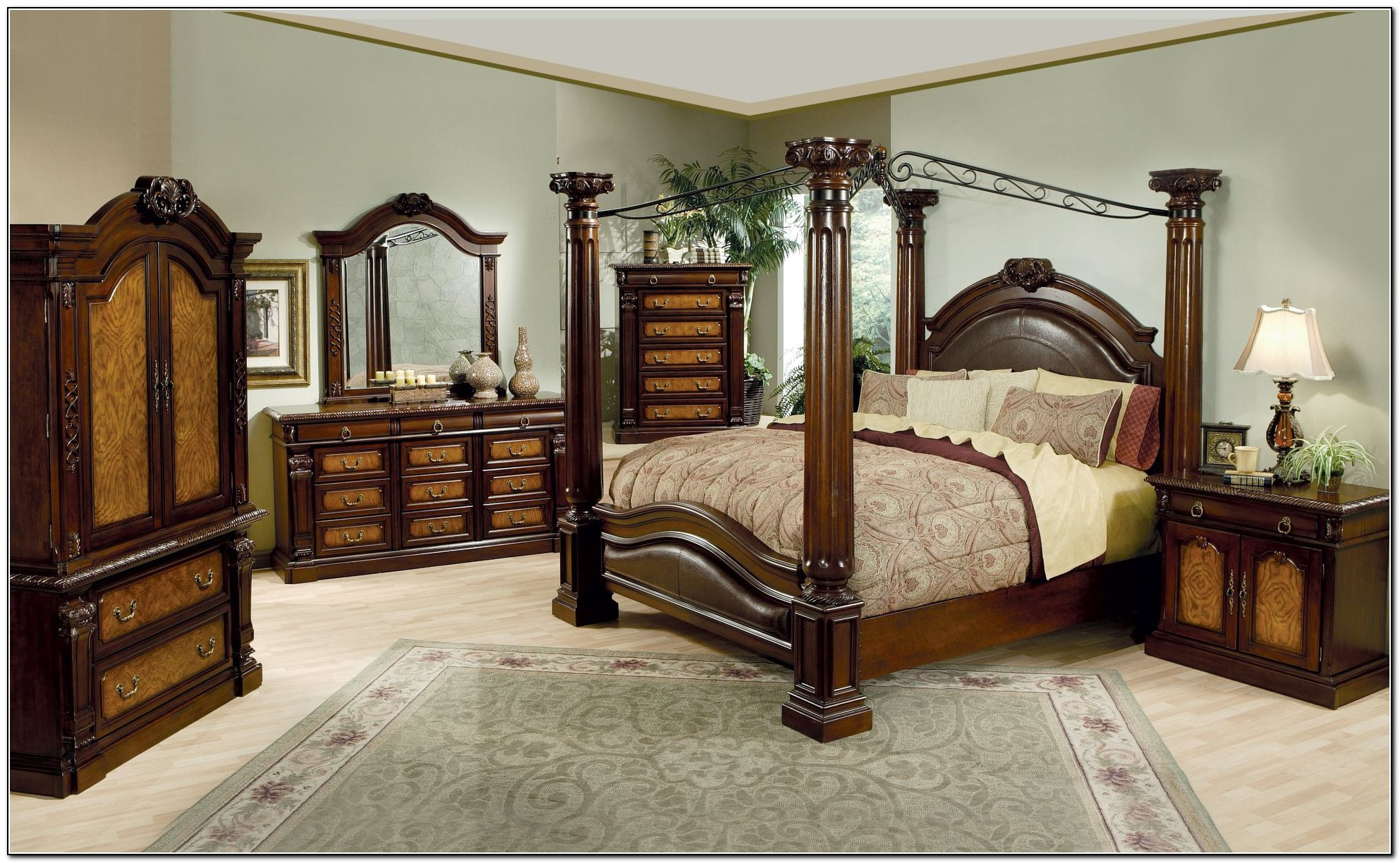 King Size Canopy Bed Frame Beds Home Design Ideas