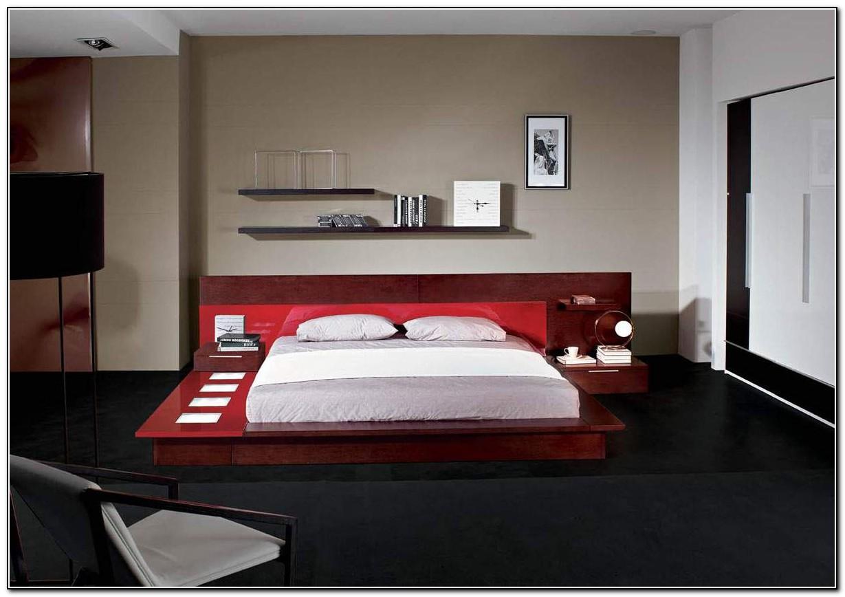 Modern Platform Bed With Lights Beds Home Design Ideas