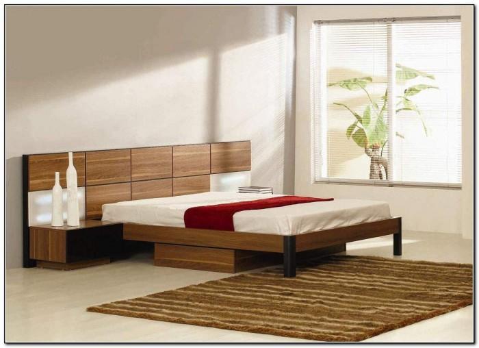 Modern Platform Bed With Storage