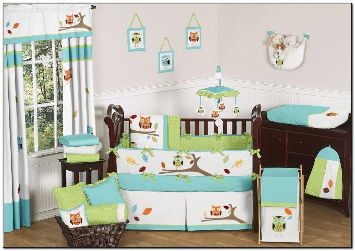 Owl Baby Bedding Set