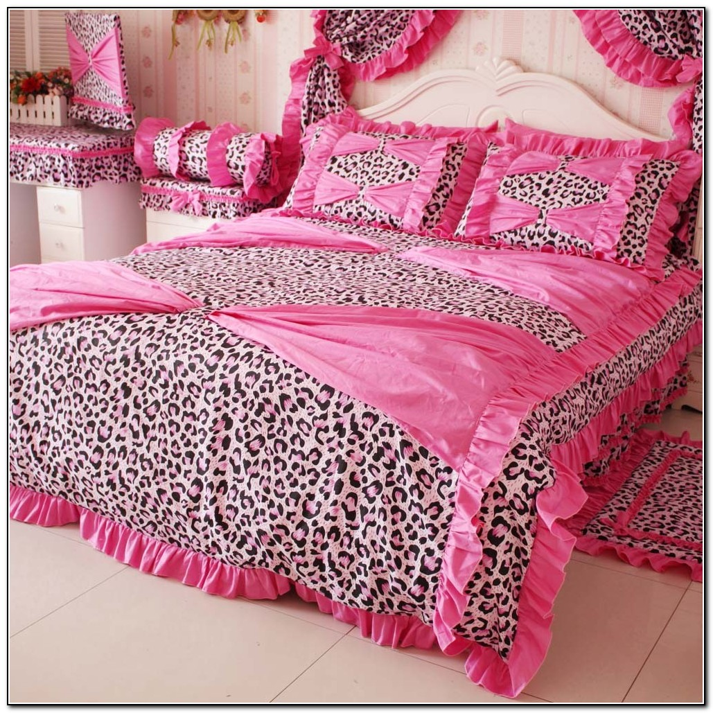 Pink cheetah print bedding download page home design for Cheetah print bedroom ideas