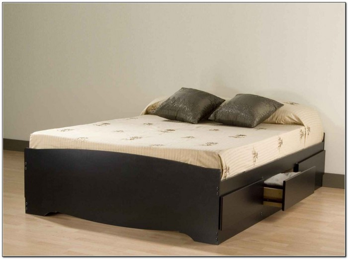 Queen Size Beds With Drawers Underneath