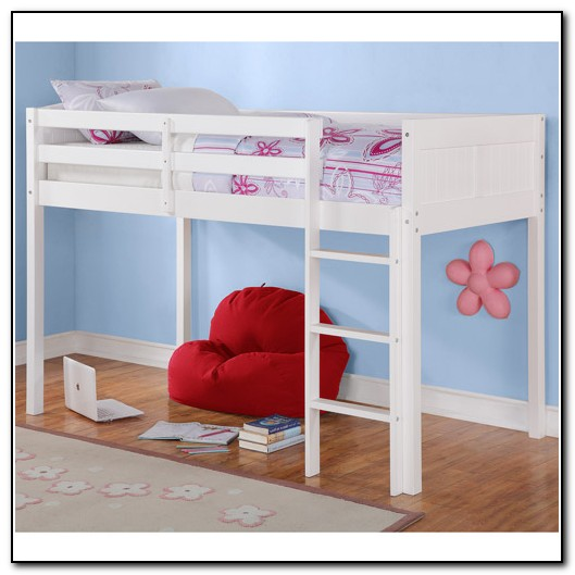 Twin Loft Bed White