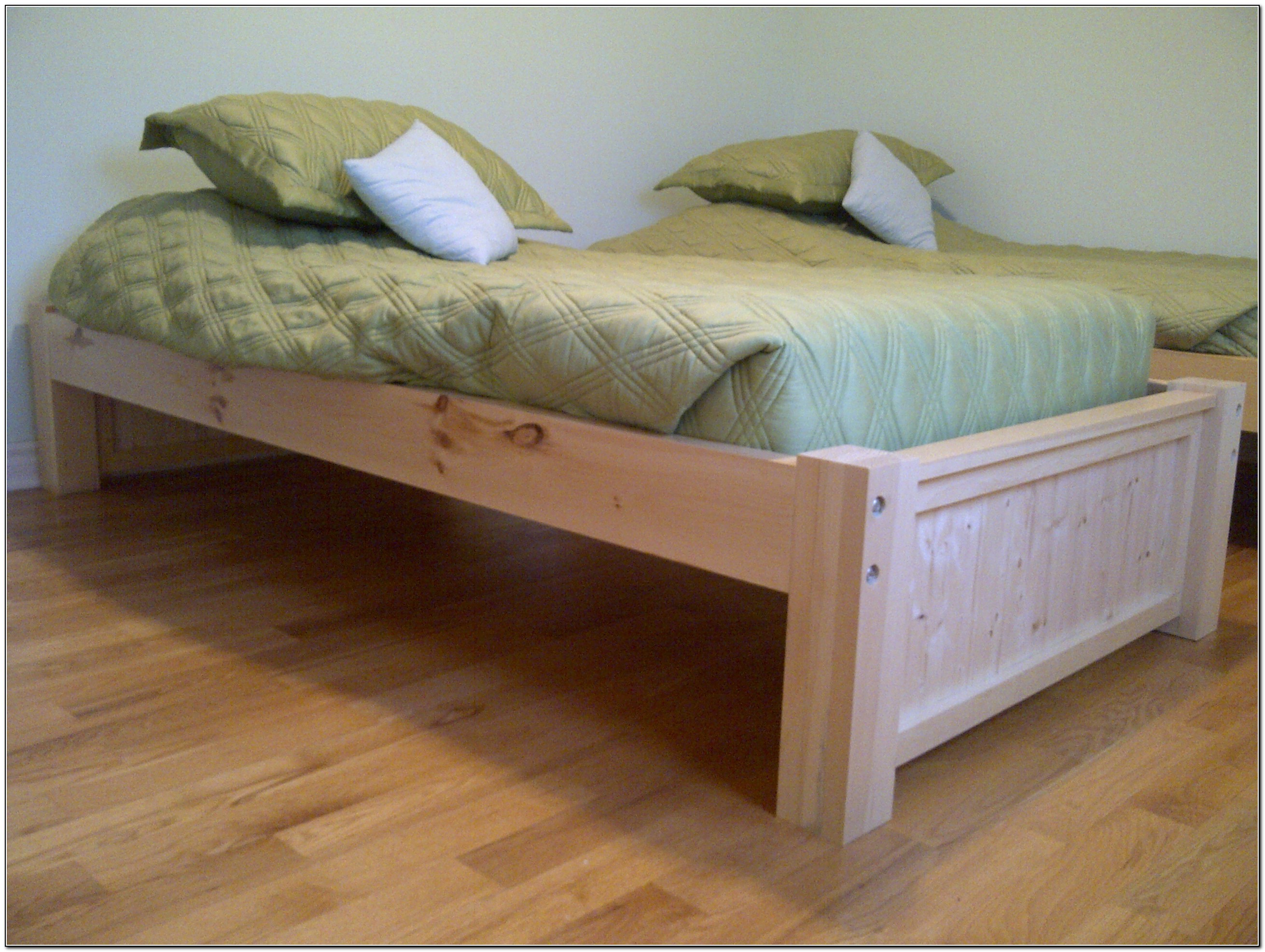 Twin Platform Bed Plans Beds Home Design Ideas