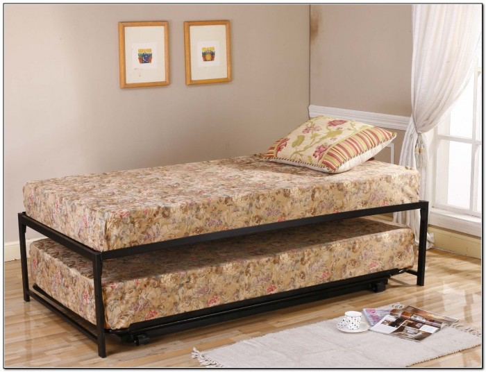 Twin Trundle Bed Frame