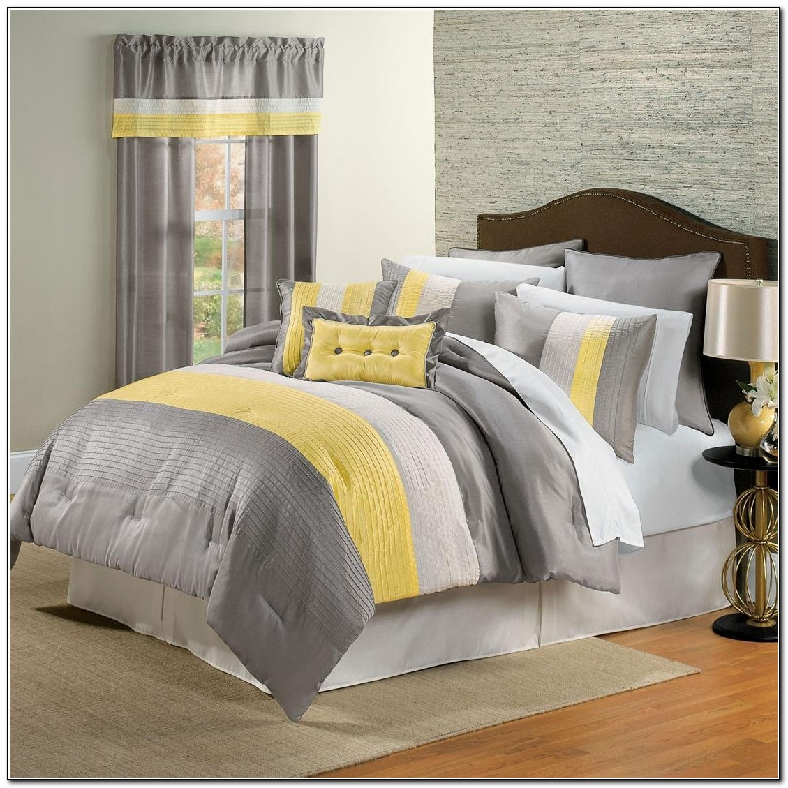 Yellow And Gray Bedding Target Beds Home Design Ideas