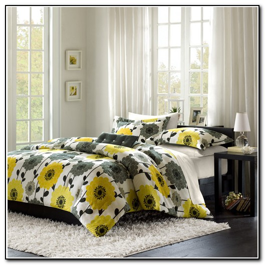 Yellow And Gray Bedding Walmart