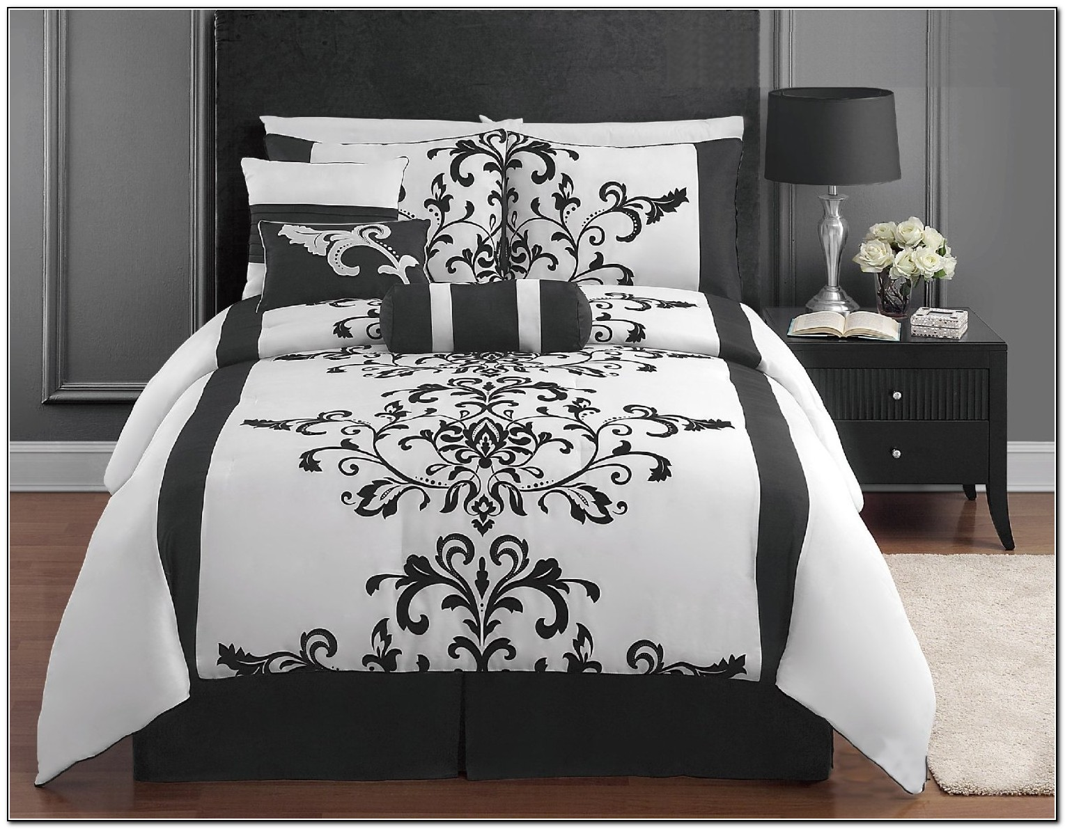Black And White Bedding Sets Full Size Beds Home