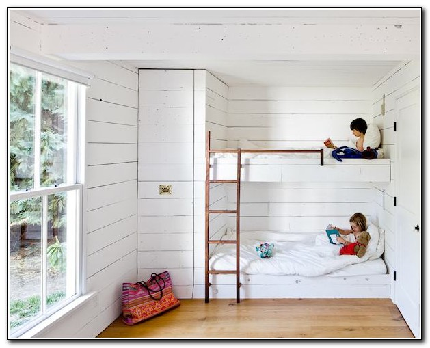 Built In Bunk Beds For Small Rooms