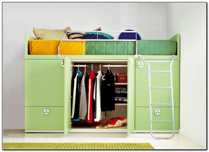 Built In Bunk Beds With Storage