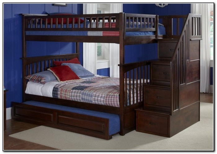 Bunk Beds With Trundle And Stairs