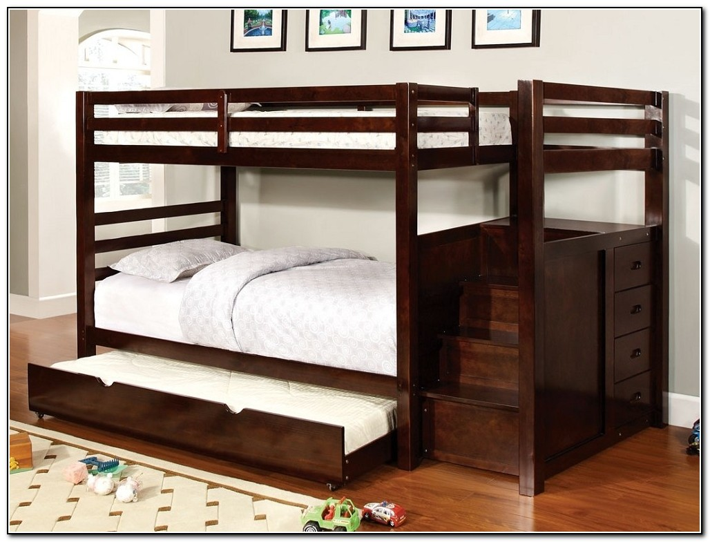 Bunk Beds With Trundle And Storage Beds Home Design