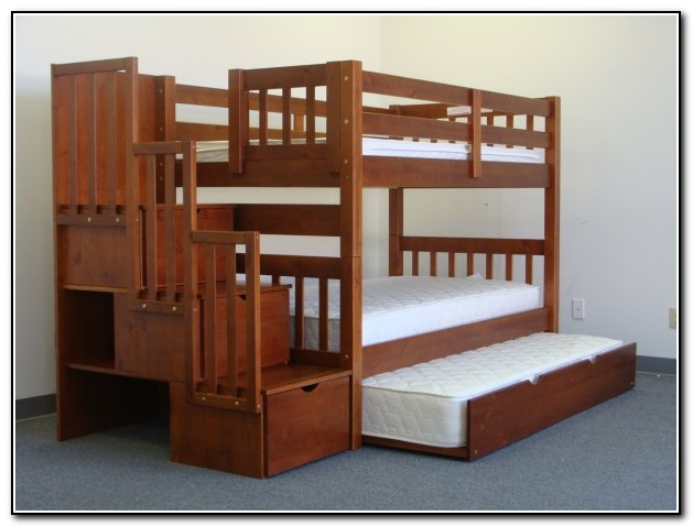 Bunk Beds With Trundle Bed