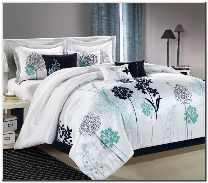 California King Bedding Sets Teal