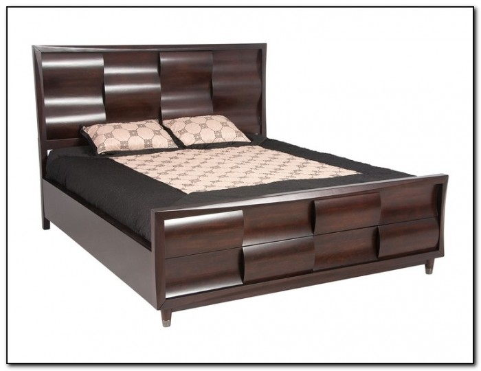 how to make a platform bed frame with storage