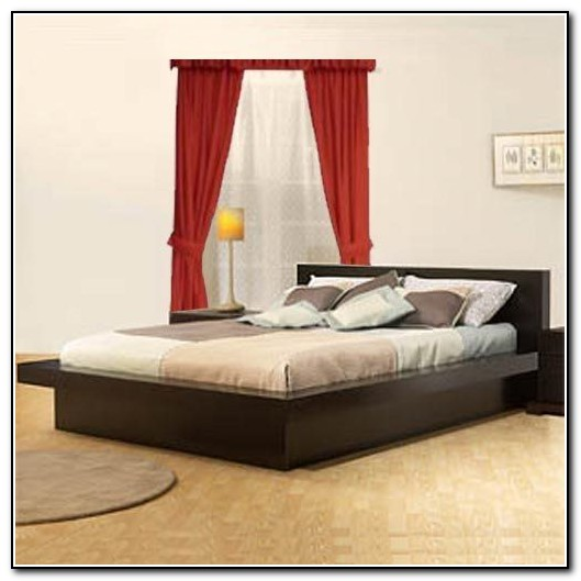 California King Platform Bed Without Headboard