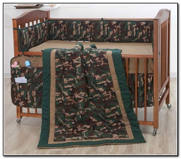 Camo Crib Bedding Sets For Boys