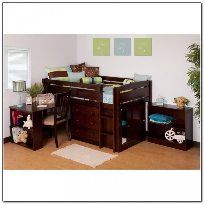 Canwood Whistler Junior Loft Bed Espresso