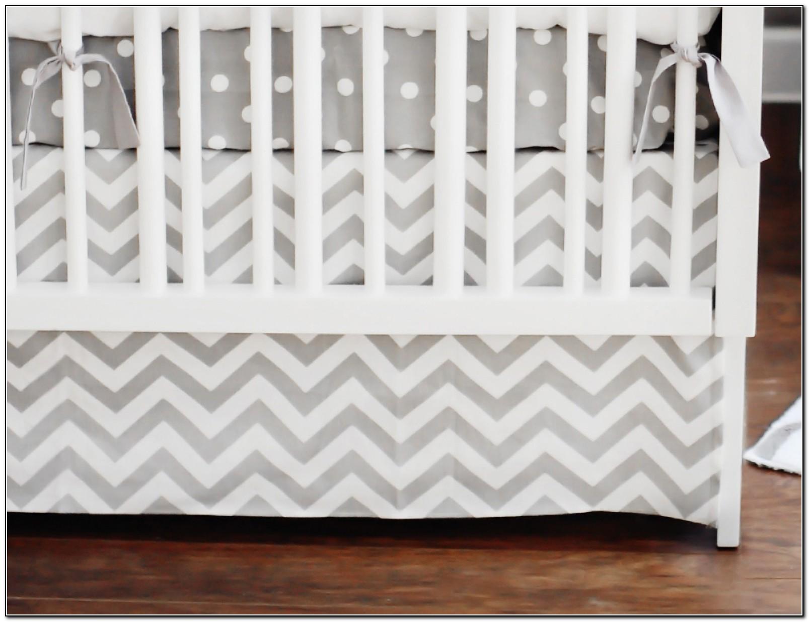 Chevron Crib Bedding Set Chevron Bedding In The Nursery