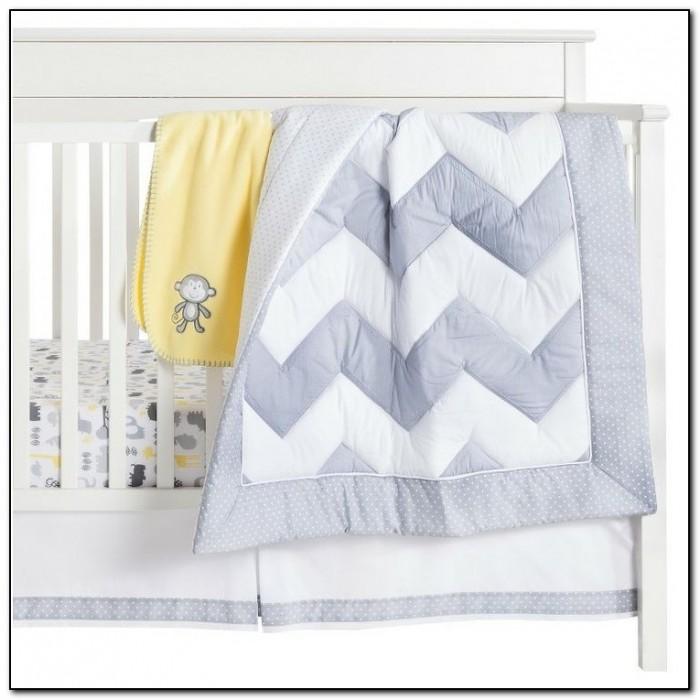 Circo® 4 Pc. Chevron Crib Bedding Set