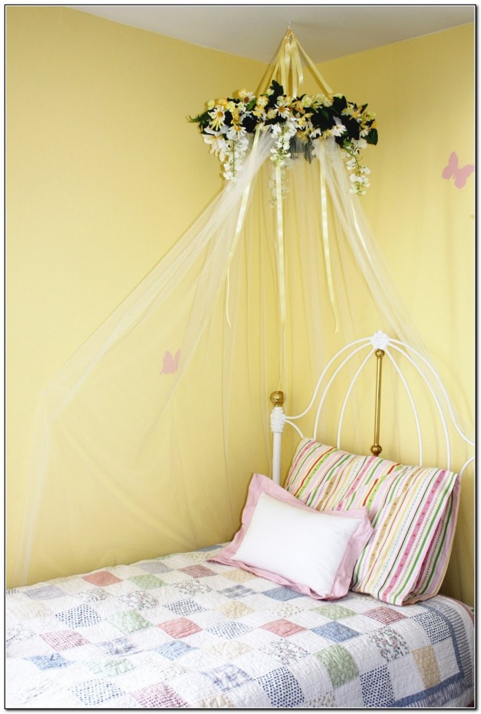 Diy Girls Canopy Bed
