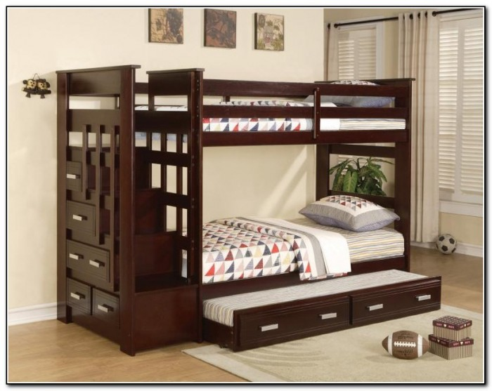 Full Bunk Beds With Trundle