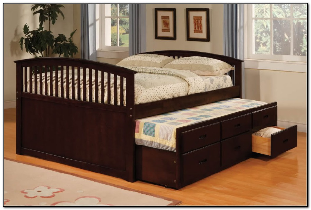 Full size trundle bed ikea beds home design ideas for Full size bed ikea