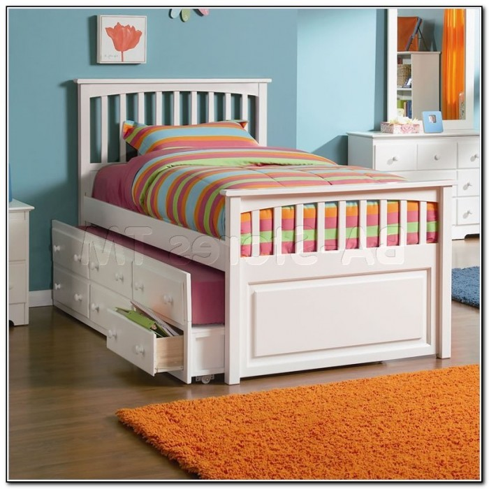 Full Size Bed With Trundle And Storage Beds Home