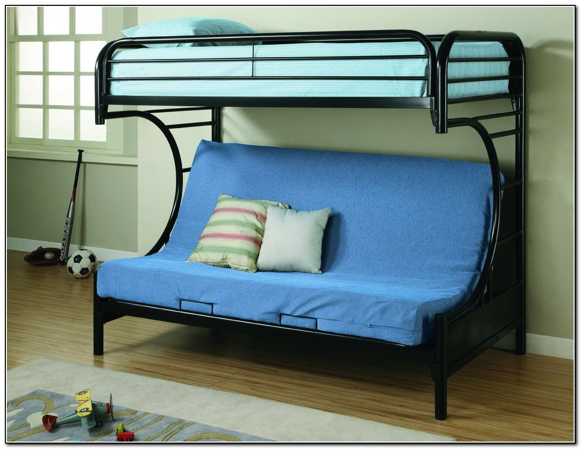 Futon bunk beds cheap beds home design ideas for Inexpensive bunk beds