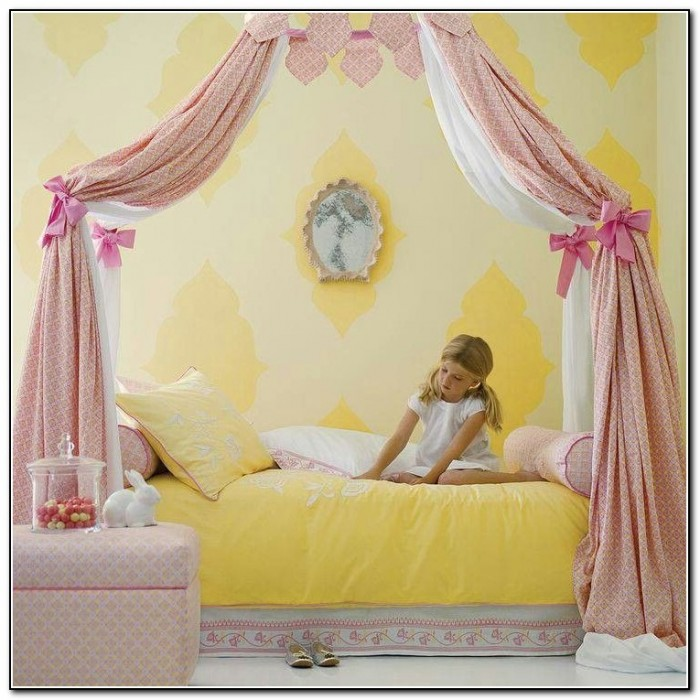Girls Canopy Bed Ideas