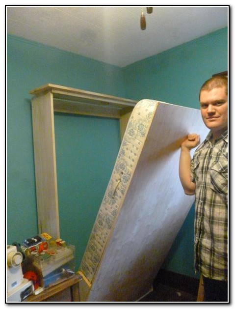 Homemade Murphy Bed Hardware