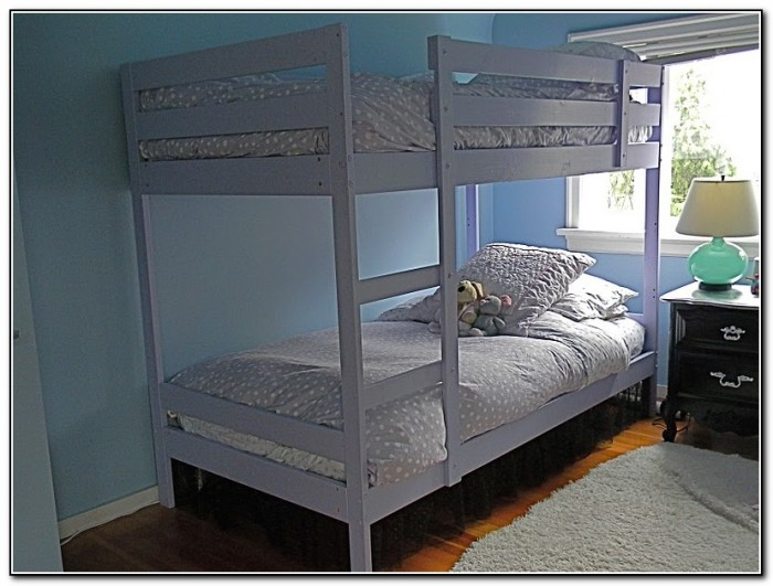 Ikea Bunk Bed Painted