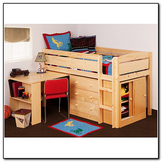 Junior Loft Bed With Desk