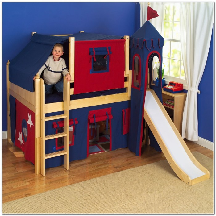 Junior Loft Bed With Slide