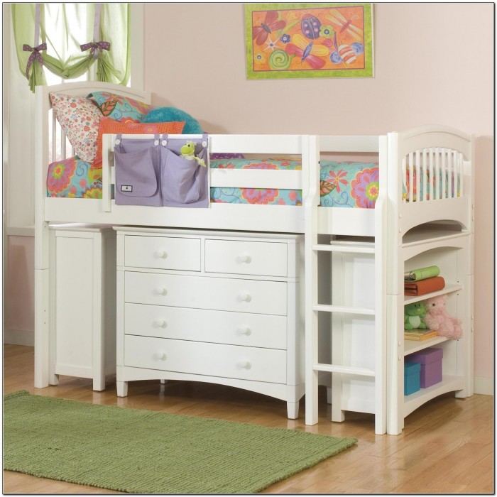 Junior Loft Bed With Storage