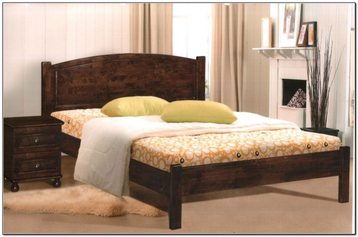 King Bed Frames Wood