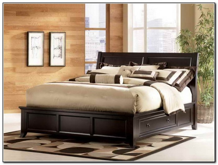 King Platform Bed Frame Plans