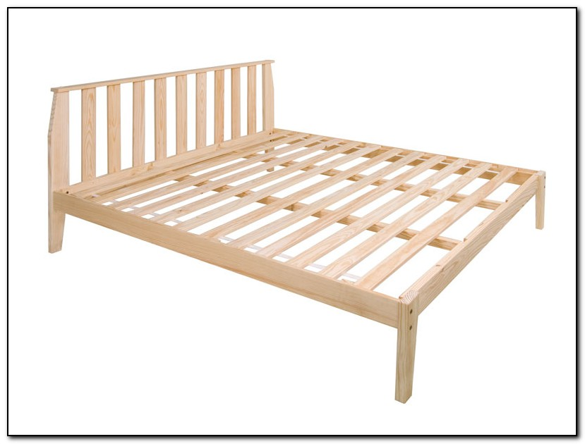 King Size Platform Bed Frame Plans Download Page Home