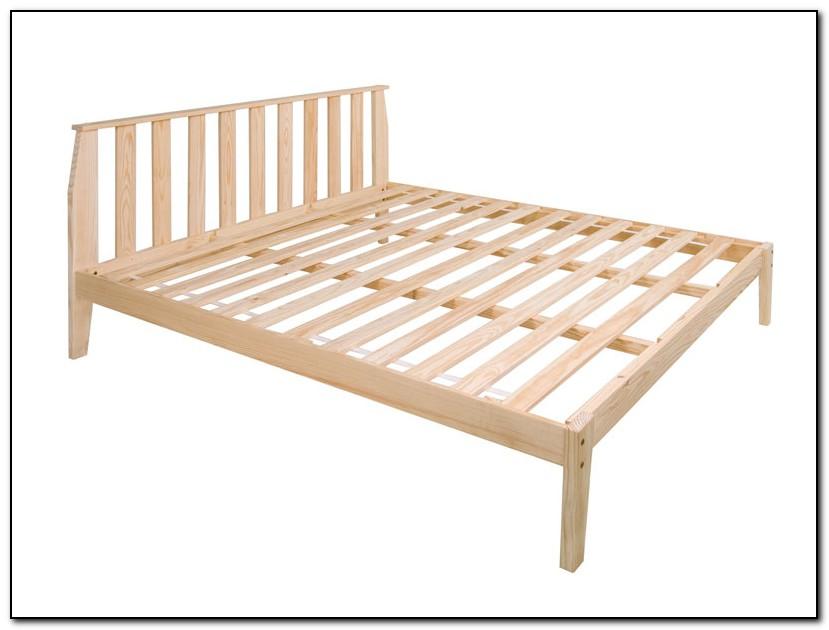 King Size Platform Bed Frame Plans Download Page Home