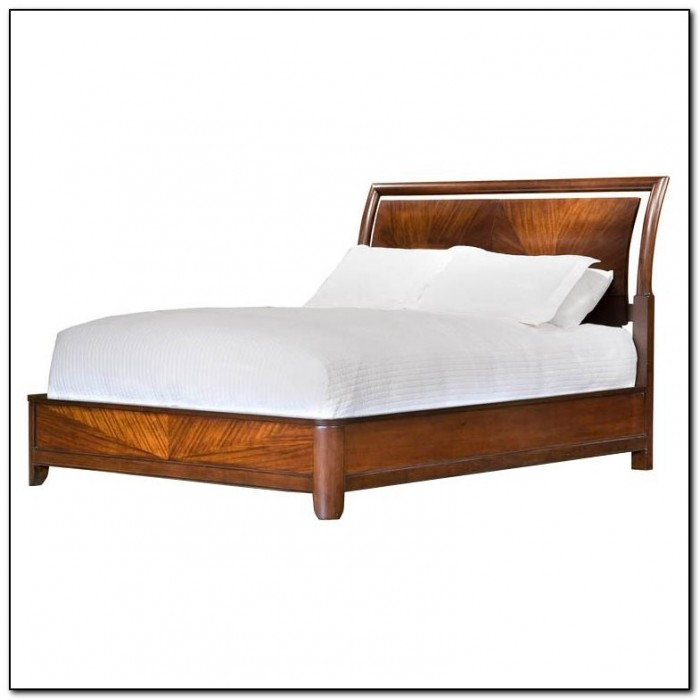 King Size Platform Bed Frame With Headboard