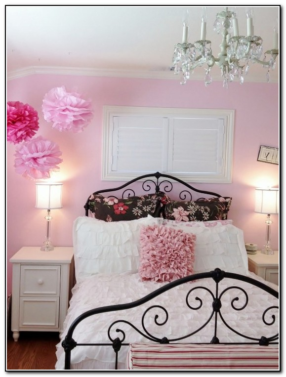 Little girl bedroom ideas on a budget beds home design for Brown and pink bedroom ideas for a girl